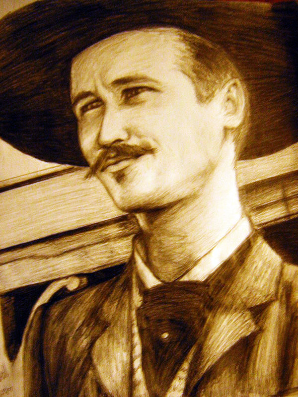 Doc Holliday Val Kilmer Wallpaper Doc holliday by madteacup