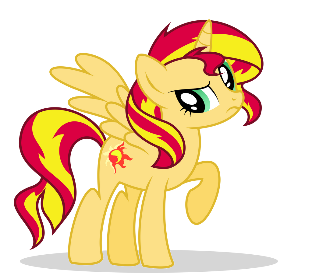 Sunset Shimmer... is an ALICORN?? by xXPudding-CakeXx