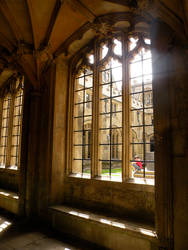 Christ Church Window 01 by nevertakemystock