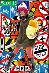 PANDA HERO - I Kidnap Ducks! by asdcvbtuym