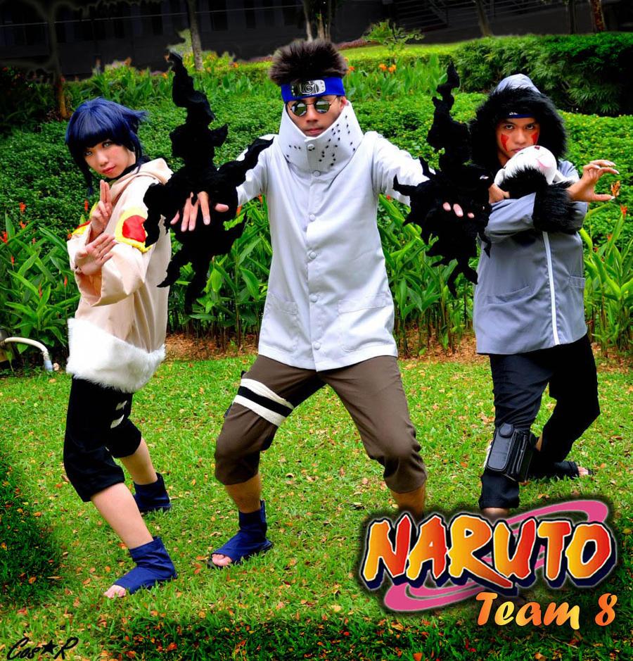 Team 8 - Naruto by asdcvbtuymNaruto Team 8