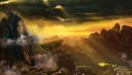 Mountains of rain and sun