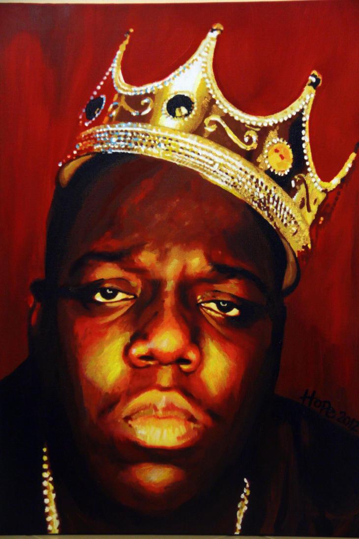 Biggie Smalls Notorious BIG Painting By HopeChahine
