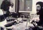 Che Guevara and John Lennon Painting