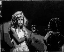 Candy Ciggarette Sally Mann Painting by HopeChahine