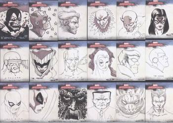 Ugliest sketch cards by MarkIrwin