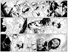 Green Lantern 60 sneak peek by MarkIrwin