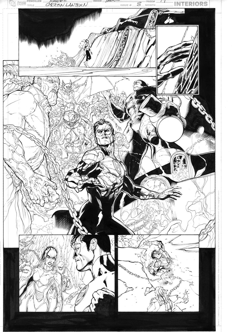 Green Lantern 8, page 19 by MarkIrwin