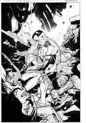 Green Lantern 9, page 4 by MarkIrwin