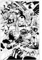 Green Lantern 9 page 6 by MarkIrwin