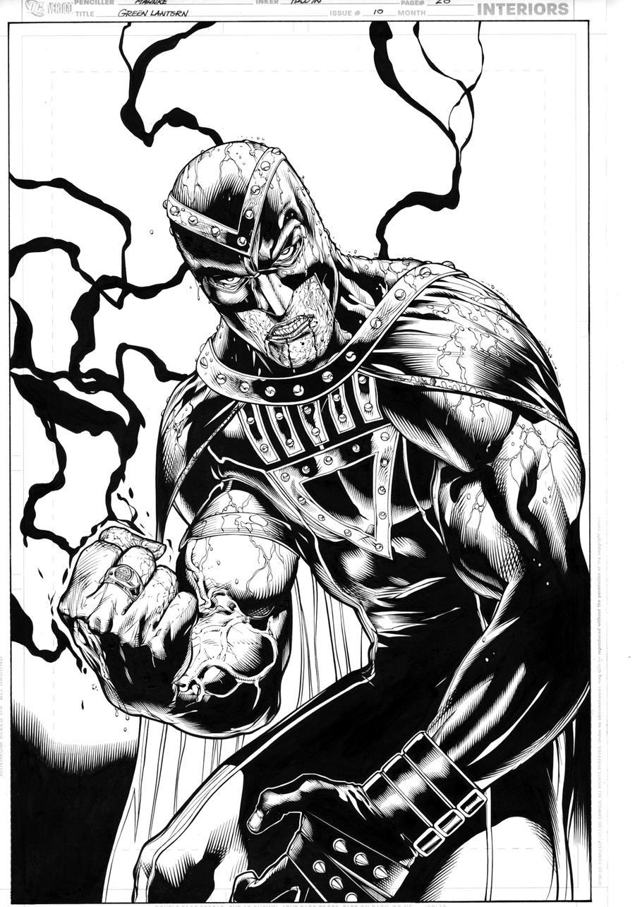 Green Lantern 10, page 20 by MarkIrwin