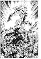 Teen Titans 14 by MarkIrwin