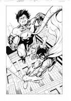 Nightwing 13, page 11 by MarkIrwin