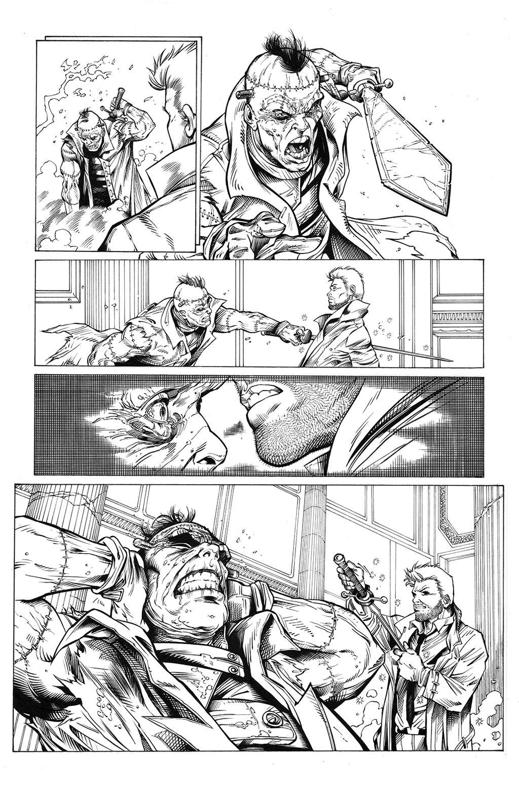 Justice Laegue Dark 30 by MarkIrwin