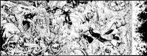 Green Lantern Annual #3 4 page spread