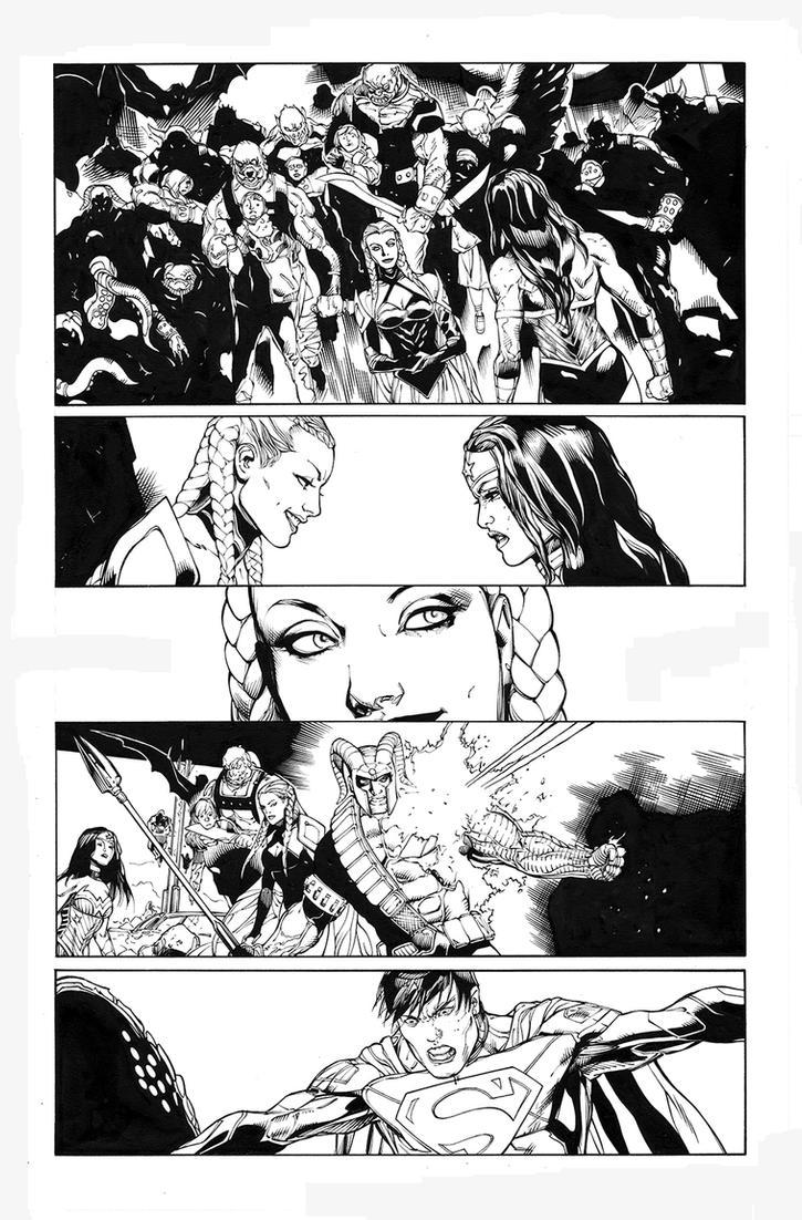 Superman/Wonder Woman 16 by MarkIrwin