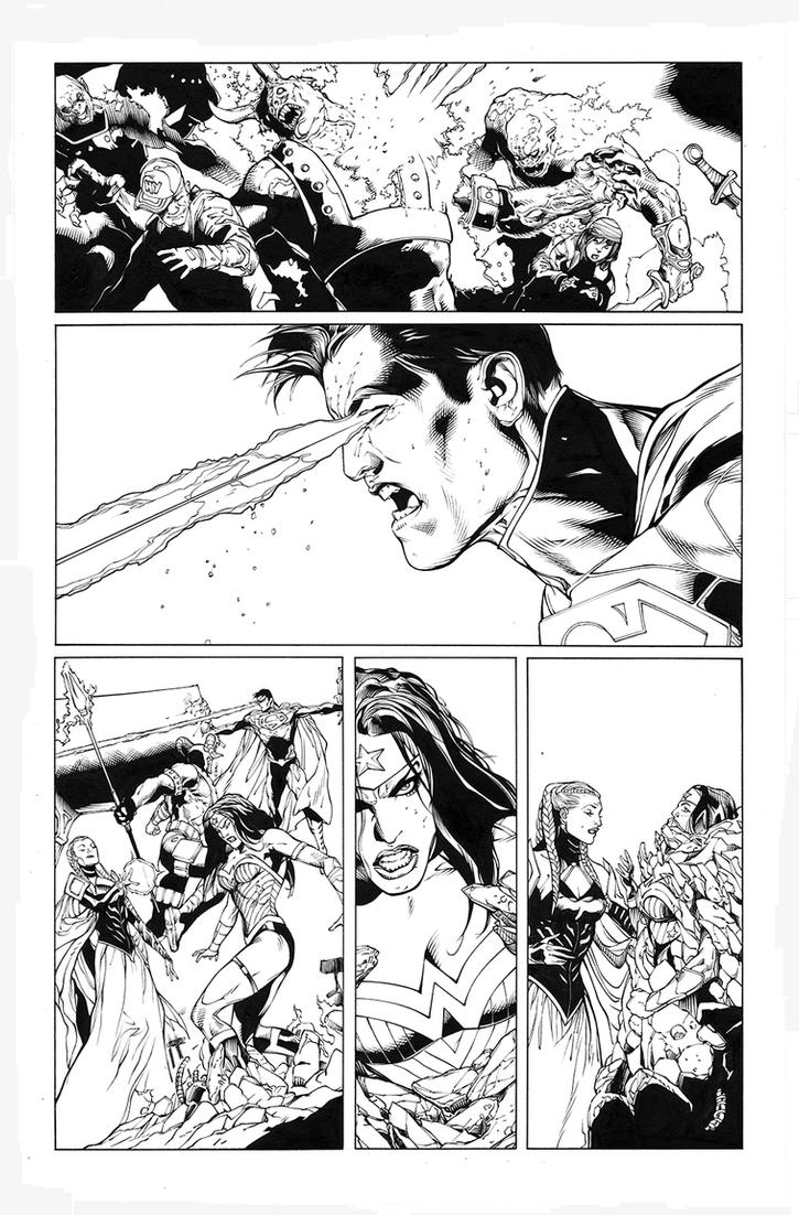 Superman/Wonder Woman 16 another page by MarkIrwin
