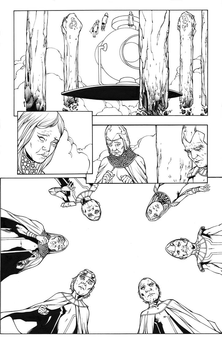 Green Lantern 40 another page by MarkIrwin