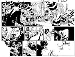 Doctor Strange 3, DP spread by MarkIrwin