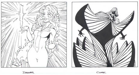 Cloak and Dagger by MarkIrwin