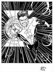 Green Lantern commission by MarkIrwin