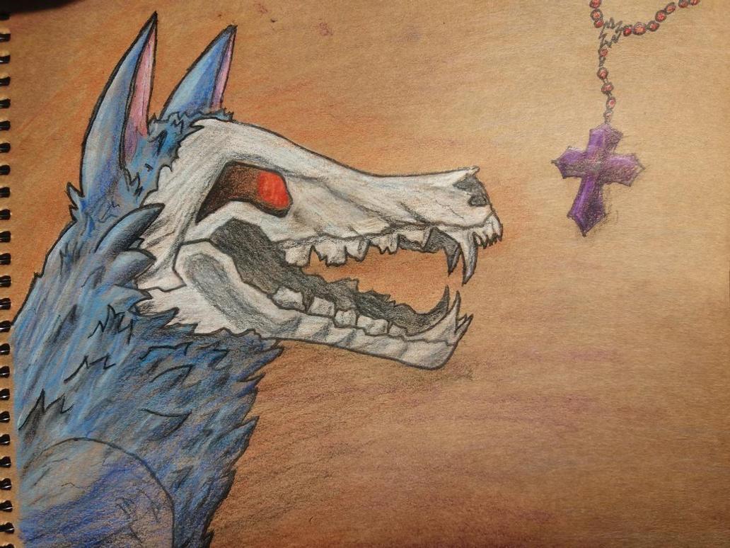 Skulldog or Hellhound? by Saurial
