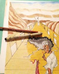 Afro Samurai vs Samurai Jack PT1 by Justeazy12