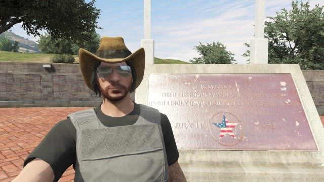 gta online player at fort zancudo by theunknownemo