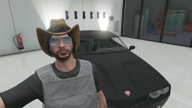 gta online player and car by theunknownemo