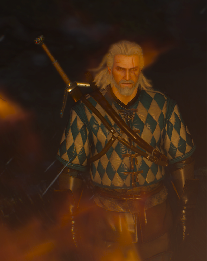 Geralt Of Rivia The Butcher Of Blaviken by theunknownemo