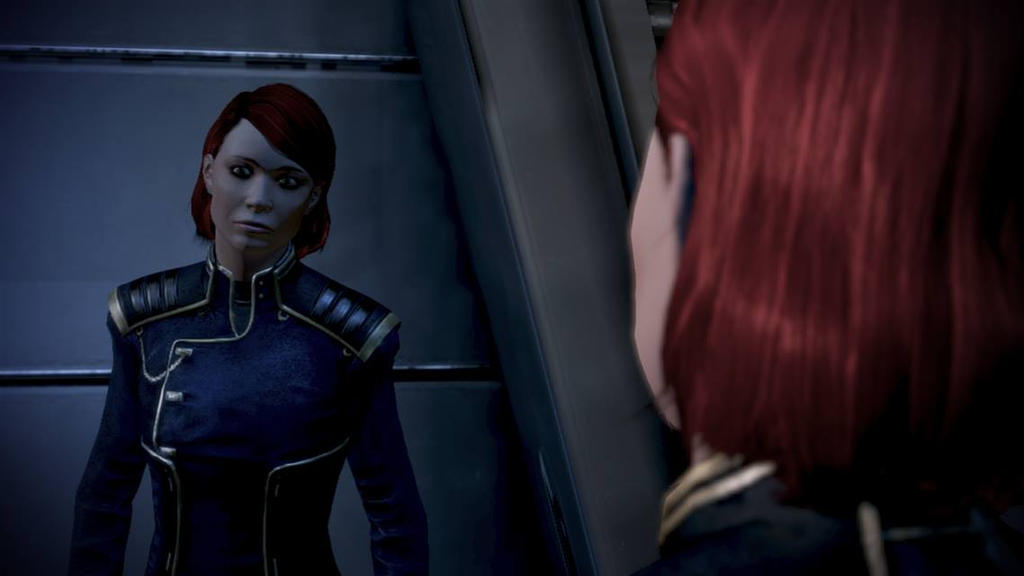 fem shepard by theunknownemo