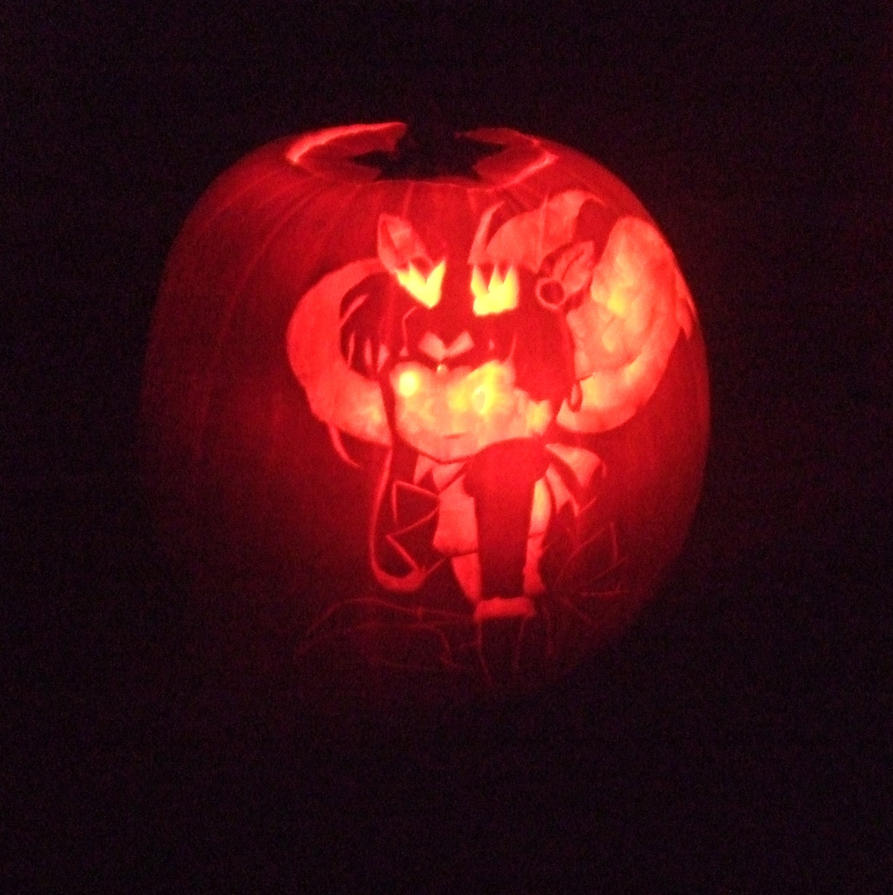 Mini Moon Carved Pumpkin 3 By Rejhina Renelena On Deviantart
