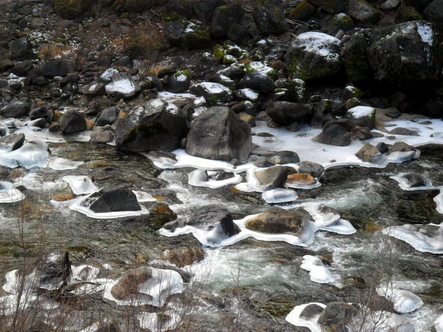 Winter River by heatherrae87