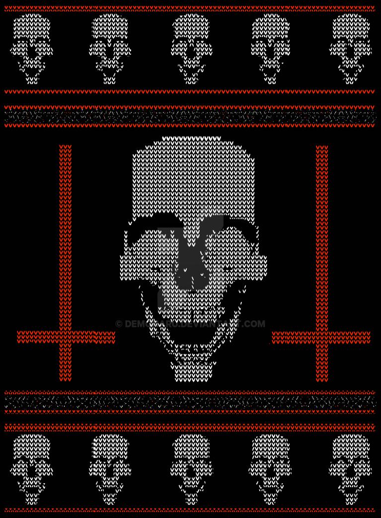 death metal christmas design by demonaru - Death Metal Christmas