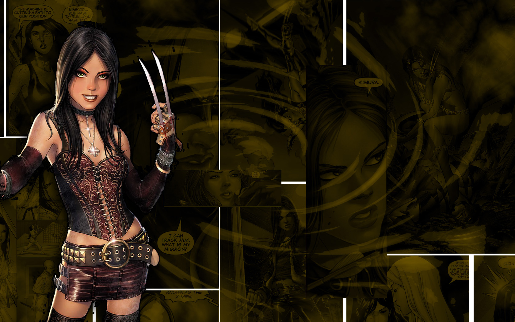 X-23 WALLPAPER by Litio on DeviantArt X 23