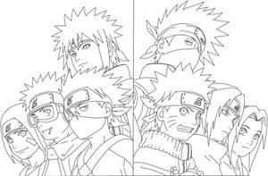 Complete Artbook Naruto Line by KenshiUchiha
