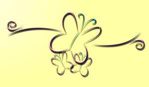 3D Fluttershy Wallpaper