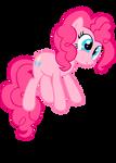 Pinkie Jump Vector by InternationalTCK