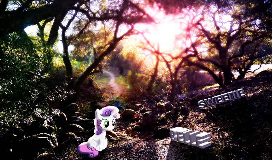 Sweetie Belle Nature Wallpaper by InternationalTCK