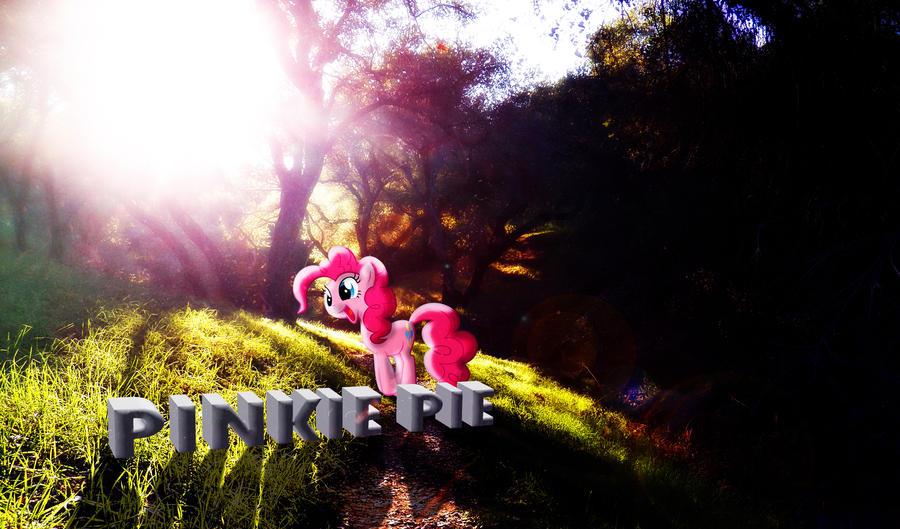 Pinkie Pie Nature Wallpaper by InternationalTCK