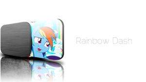 JD Rainbow Dash Wallpaper