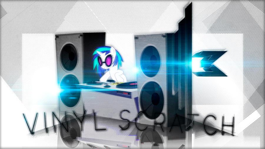 DJ Vinyl Wallpaper