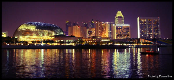 Singapore Marina by bullettothehead