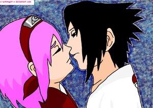 Kiss by x-uchihagirl-x by NarutoXCouplesXClub