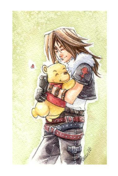 KH2 - bear hug by neomonki