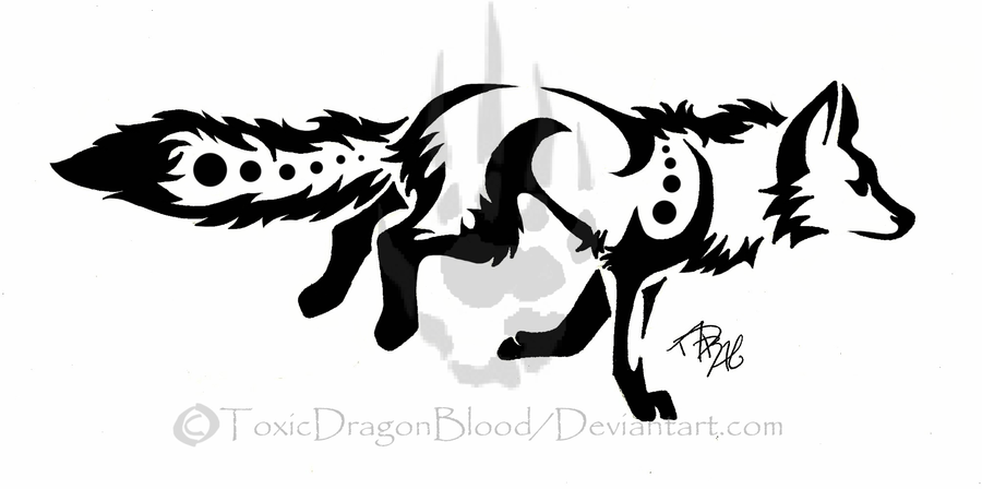 Running Fox Tattoo by ...