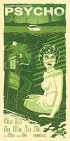 Psycho Movie Poster by Schoonz