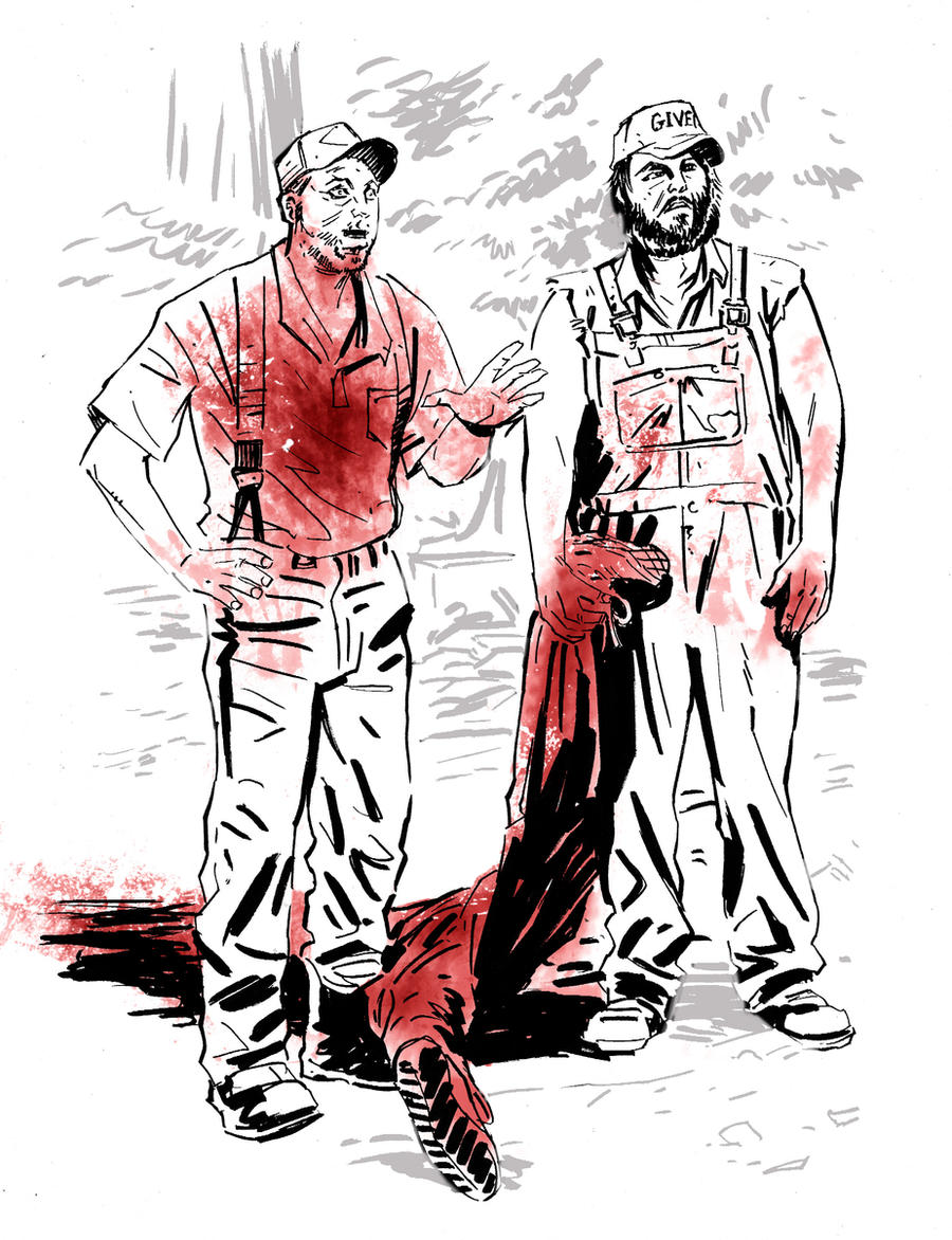 Tucker and Dale VS Evil by Schoonz