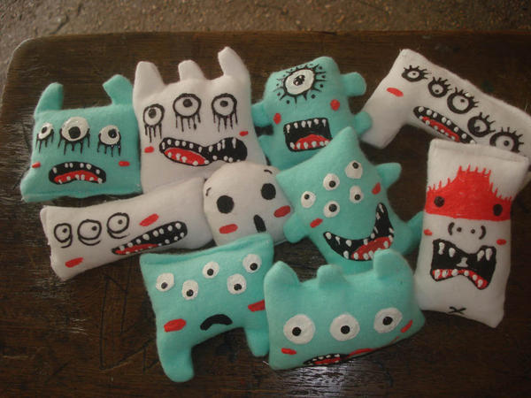 irregular monsters by ouchis