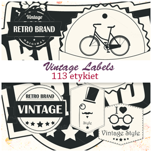 Vintage Labels PNG By Agniesia0588